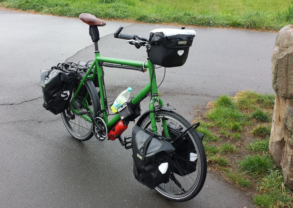 Das neue Rad fertig aufgebaut!